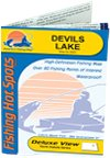 Devils Lake Fishing Map