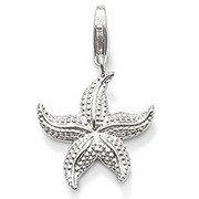 Cubic Zirconia Starfish Charm - 8
