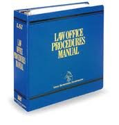 Law Office Procedures Manual - LSI