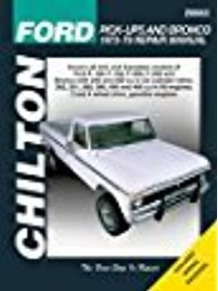 Ford pick ups bronco automotive repair manual 1973 1979 chilton ford trucks and bronco 1973 1979 repair manual 26662 fandeluxe Choice Image