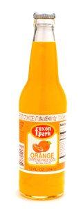Foxon Park, Orange Soda, 12 oz. Bottle (Case of 12) made in New England