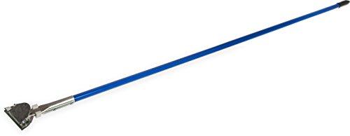 Carlisle 36201300 Flo-Pac Metal Dust Mop Handle, 15/16'' Diameter x 60'' Length, Blue (Pack of 12) by Carlisle