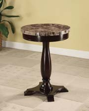 espresso pedestal table - 7