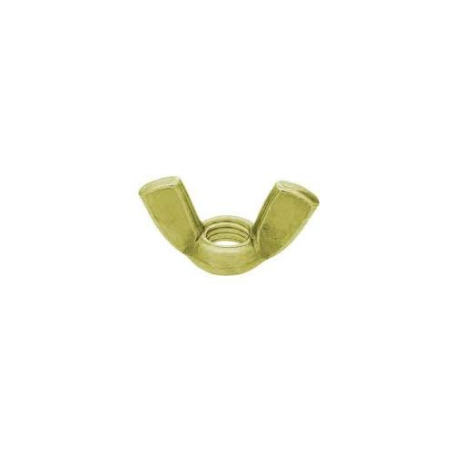 6-32 Wing Nut Cold Forged Brass Qty 100