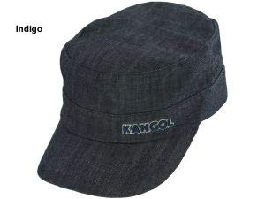 - Kangol Unisex-Adult's Denim Army Cap, Indigo, S/M