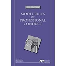 Model Rules of Professional Conduct, 2018 Edition
