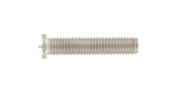 Ships Free in USA by Aspen Fasteners ISO 13918 M6X16 Welding Studs Type PT A2 Stainless Steel ASSP1391826-16 600pcs
