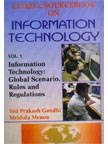 Global Source Book on Information Technology, Gandhi and Menon, 817391494X