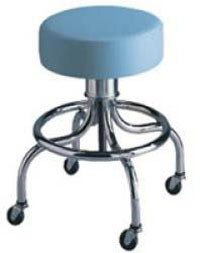 Brewer Company 23051-HAM122 Stool Exam Spin Lift Chocolate Ea Spin Lift Exam Stool