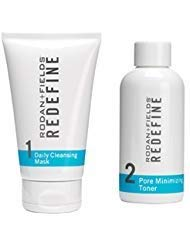 Rodan and Fields Daily Cleansing Mask and Pore Minimizing Toner Bundle by