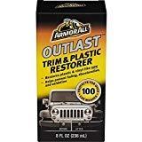 Armor All Outlast Trim & Plastic Restorer 8 oz (3 Pack)