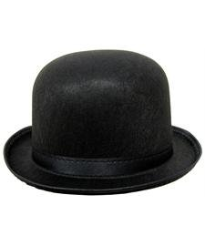 Charlie Chaplin Costume Kids (Quality Black Derby Hat)