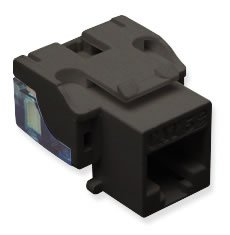 Brand New Icc Ic107e5cbk - 25 Pack Cat5 Jack - Black