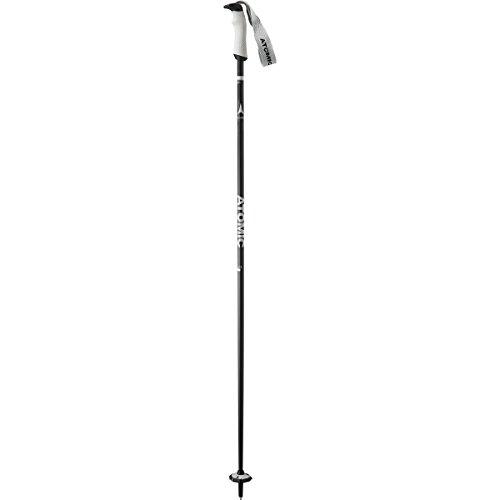 S Ski Poles Black/Grey, 115cm (Atomic Ski Poles)