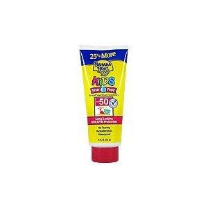 (Banana Boat SPF#50+ Kids Tear Free Sunblock 10 oz. Bonus)