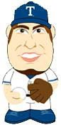 2013 TOPPS BASEBALL - YU DARVISH #11 - BIG LEAGUE MINI'S FIGURE
