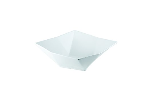 13 In Square Bowl (TableCraft Products MB134 Angled Square Bowl, Large, 13