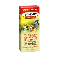 Ivy Dry Cream Size 1z Ivy Dry Quick Itch Relief Cream by Ivy-Dry