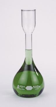 28100-200 - 200 mL - KIMAX Kohlrausch Volumetric Flasks, Class A, Kimble Chase - Case of 12