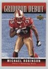 2006 Upper Deck Gridiron - Michael Robinson (Football Card) 2006 Upper Deck - Gridiron Debut #1GD-MR