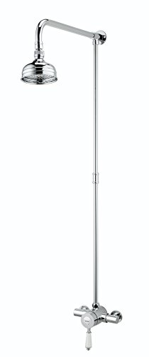 Bristan KN2 SHXRR C Colonial2 Thermostatic Shower Valve with Rigid Riser - (Rigid Riser Kit)