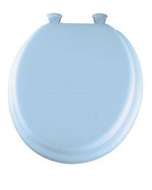 Mayfair Round Toilet Seat Premium, Series 13 Blue ()