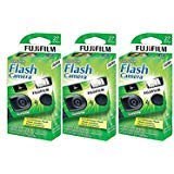 Fujifilm QuickSnap Flash 400 Disposable 35mm Camera (3 Boxes)