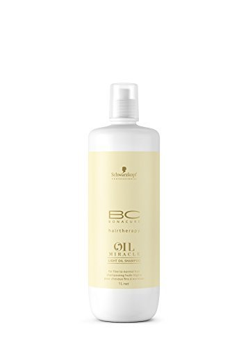 Schwarzkopf Bonacure Oil Miracle Light Oil Shampoo (For Fine to Normal Hair) 1 Litre by Schwarzkopf by Schwarzkopf