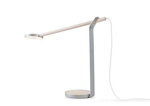 Gravy LED Desk Lamp Finish: Maple/Silver