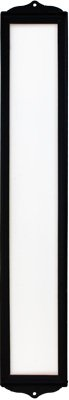 Iron Desert - Fine Crafts Imports Wrought Iron Vertical House Number Frame Desert 4