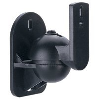 Speaker Wall Mount Bracket (Max 7.6lbs), Pair - Distributed by NAC Wire and Cables