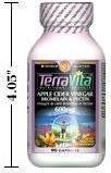 Apple Cider Vinegar with Bromelain and Apple Pectin - 600 mg (90 Capsules, ZIN: 406580) by TerraVita