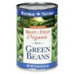 Westbrae Foods Green Bean Canned vegetable ( 12x14.5 OZ)