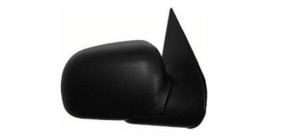 (2002-2005 Ford Explorer, Mercury Mountaineer Power Without Heat Black Textured With Puddle Lamp/Light Black Folding Non-Heated Rear View Mirror Right Passenger Side (2002 02 2003 03 2004 04 2005)