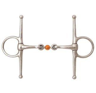 Korsteel Copper Ball Lnk Full Chk Snaffle 5.5in