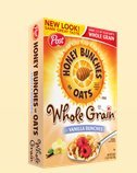 Honey Bunches of Oats Whole Grain with Vanilla Bunches - 18 Oz - Pack of 2 (Honey Bunches Of Oats With Vanilla Bunches)