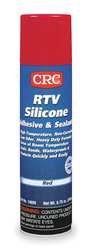 RTV Silicone Sealant, 6.5 oz., Red 14059
