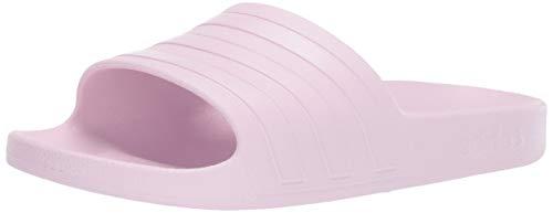 adidas Women's Adilette Aqua, aero Pink, 6 M US (Women's Adidas Adilette)