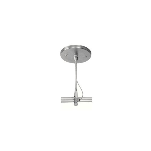 LBL REMOTECNPY-SC-2C 2-Circuit Monorail Round Canopy, (Two Circuit Monorail Systems)