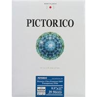 Pictorico TPS100, Ultra Premium Over Head Projector Transparency Inkjet Film, 184gsm, 5.7 mil., 8.5x11