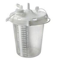 Suction Bottle-Suction Cannister 2400ml Stem Inlet, cs/36