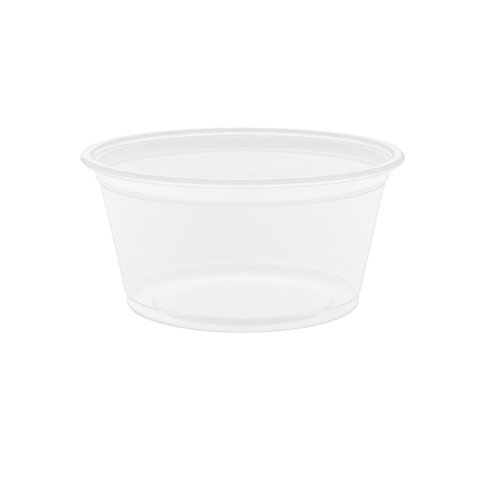 Dart Container Clear 2 Oz Plastic Portion Container , Case of 2500