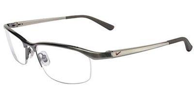 Nike Eyeglasses 6037 045 Steel Demo 53 17 135