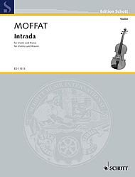Intrada from French 18th Century Violin Pieces ()