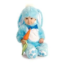 Bunny And Carrot Costume (Blue Bunny Infant Costume, 0 - 6 Months)