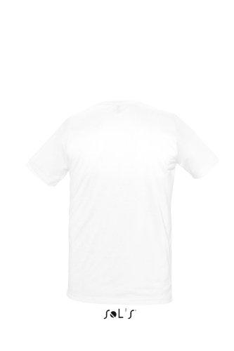 Sols - Sublima - Unisex Rundhals T-Shirt , White , L