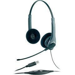 GN 2000 USB Wideband Stereo Headset, Foam Ear Cushions (JBR20001091) Category: Audio Headsets - Jabra Tube Headset