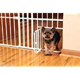 Mini Metal Expandable Pet Door Gate Safety Baby Toddler Dog
