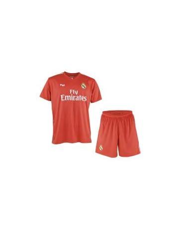 b0b29ce7c8 Conjunto de Camiseta y Pantalon de Portero Rojo del Real Madrid 2018-2019 -  Replica