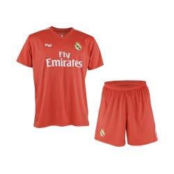 Conjunto de Camiseta y Pantalon de Portero Rojo del Real Madrid 2018-2019 - Replica Oficial con Licencia - Niño Talla 14 años: Amazon.es: Deportes y aire ...